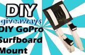 DIY GoPro Surfboard Mount voor onder $10!!!