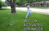 Houd ongewenste bezoekers weg met een Motion geactiveerd Sprinkler