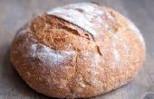 Van brood alleen