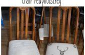 Snelle en gemakkelijke stoel stoel reupholstery