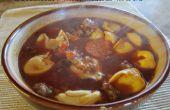 Italiaanse worst en Tortellini soep