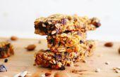 Chewy Granola Bar recepten (+ video!)