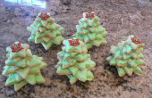 Handige 3D kerstboom Cookies, geweldig om te eten of te geven!