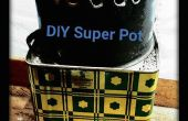 DIY Super Pot voor Rocket kachels