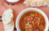 Zuurkool soep