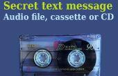 Geheime boodschap in Audio