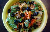 Pittige salade van de Taco