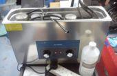 Hoe schoon een carburateur van de motor met behulp van een ultrasoon reiniger