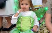 Tinkerbell kostuum met licht-up vleugels voor peuter