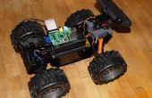 WebRTC klimplant Drone - Browser gecontroleerde RC auto
