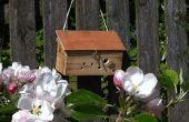 Teruggewonnen hout Bee vak