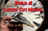 Bouwen van een Laser gesneden Model op een regenachtige dag