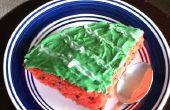 Watermeloen cake met de goedheid van watermeloen