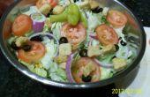 Olive Garden de salade en Dressing recept GEHACKT