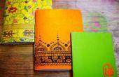 Handgemaakte Notebook