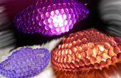 Crystal verlichting met behulp van elektrische lampen of kaarsen