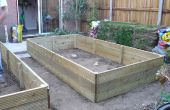 Aan de orde gesteld plantaardige Bed