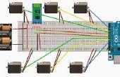 Controle van meerdere servomotoren van android en arduino