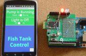 De generator van de code voor aangepaste Android/Arduino-menu's aan de Arduino uitgangen wissel voort en vandoor. Andriod/Arduino voor Beginners. Absoluut geen programmeerkennis vereist