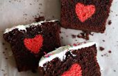 Verborgen hart taart / Cake verrassen