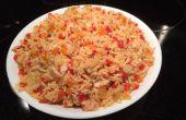Hartige jasmijn rijst & paprika