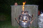 Hoe het bouwen van een hout gestookte hottub