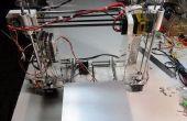 Eerste 3D-Printer: Aangepaste Prusa i3