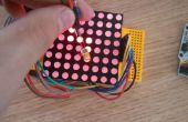 Arduino - Dot-Matrix scherm schrijven LED