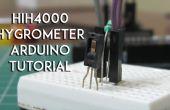 HIH4000 vochtigheid, Hygrometer sensor tutorial