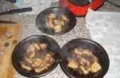 Gestoofde ossenstaart in Valpolicella (geserveerd met aardappel gnocci)