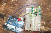Gemakkelijk Arduino LED dobbelstenen