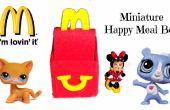 Miniatuur McDonalds Happy Meal doos & Toy