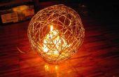 Sferische draad Lamp