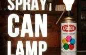 Spray verf kunt Lamp