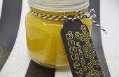 DIY: Mason Jar bijenwas kaars
