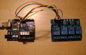 Afstandsbediening 4 estafette met Arduino via WIFI (touchOSC + Processing)