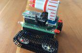 Kleine Smartphone gecontroleerd Arduino Tank