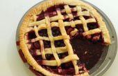 Drievoudige berry taart
