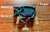 Gemakkelijk, omkeerbare Motor controle voor Arduino (of een Microcontroller)