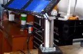 Seguidor Solar con motores een paso + Arduino