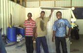 Arbor Loo compostering Toilet voor Haïti