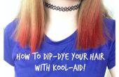 Hoe je haar met Kool-Aid Dip-Dye