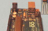 Het weergeven van temperatuur met behulp van een LM35 en Arduino UNO
