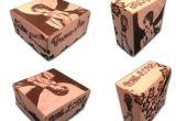 De doos van de Gift van de aangepaste Origami