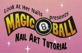 Magische Eight Ball Nail Art Tutorial