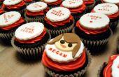 Make-Your-Own-Phrase aangepaste Cupcakes