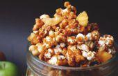 Popcorn toffee appel (karamel appel)