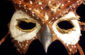 Lederen Owl masker