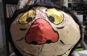 "Moishe/Carol ""Where the Wild Things Are"" papier mache masker"
