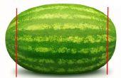 Hoe te verwijderen van de meeste van de zaden bij het versnijden van een watermeloen